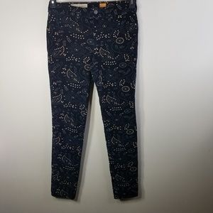 EUC Pilcro & the Letterpress blue corduroy size 28